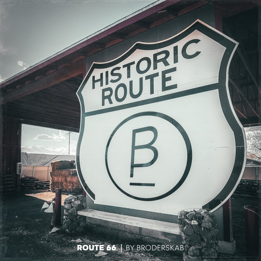Route 66 By Broderskab Artwork