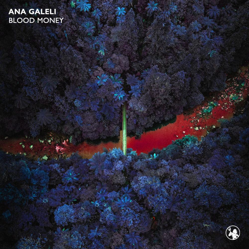 Ana Galeli – Blood Money Artwork