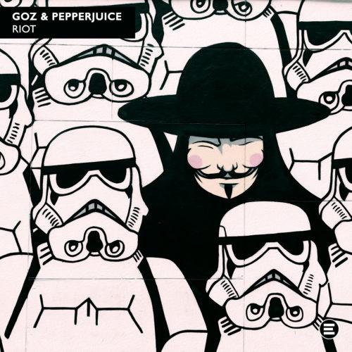 GOZ x Pepperjuice – Riot Artwork